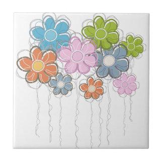 Floral Decor Tile
