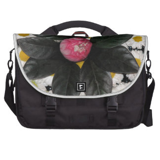 Floral decoration commuter bag