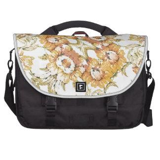 Floral Decorative Laptop Computer Bag