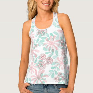 Floral Delicacy Tank Top