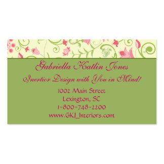 Floral Delight Business Card Templates