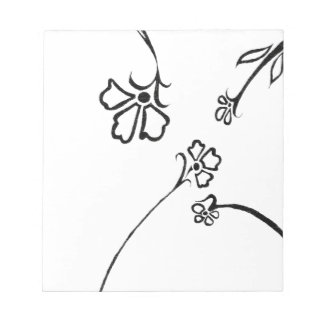 Floral delight notepads
