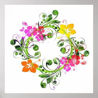 Floral Design 01 Poster