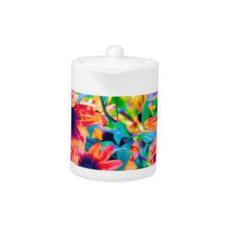 Floral design 1 - Copy Teapot