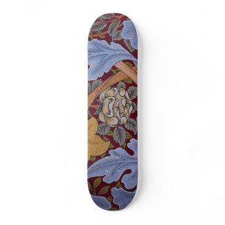 Floral Design Acanthus Vintage William Morris Custom Skateboard