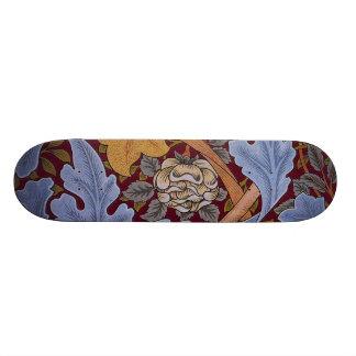 Floral Design Acanthus Vintage William Morris Skateboard