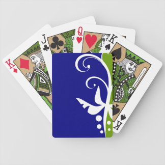 Floral Design Bicycle Playing Cards