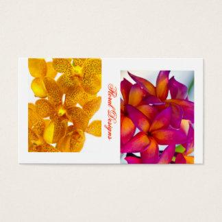 Floral Design Botany Business Card