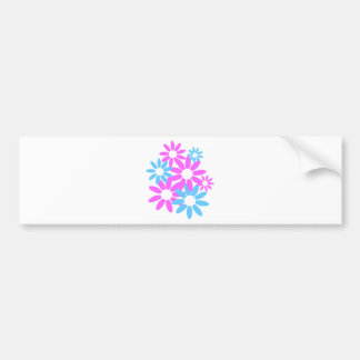 Floral Design Bumper Sticker