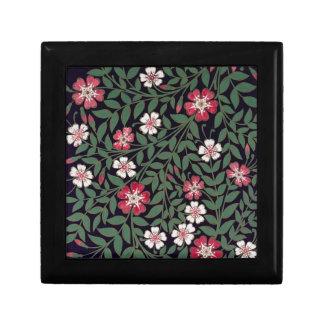 Floral Design by J. Owen, 1863 Keepsake Box