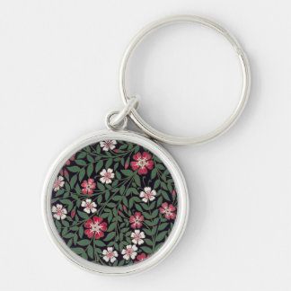 Floral Design by J. Owen, 1863 Keychain