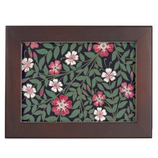 Floral Design by J. Owen, 1863 Memory Box