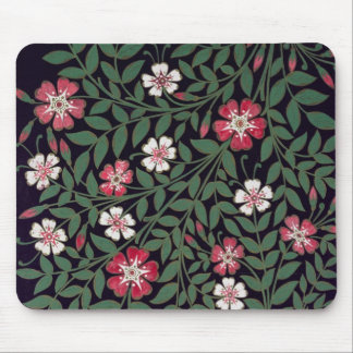 Floral Design by J. Owen, 1863 Mouse Pad