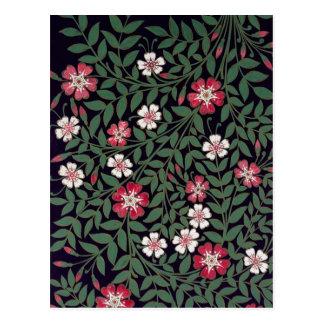 Floral Design by J. Owen, 1863 Postcard