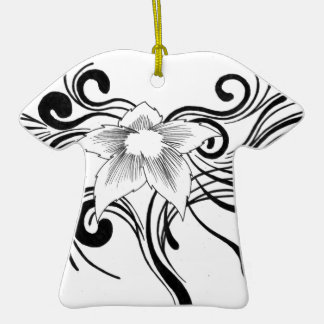 Floral Design Christmas Ornaments
