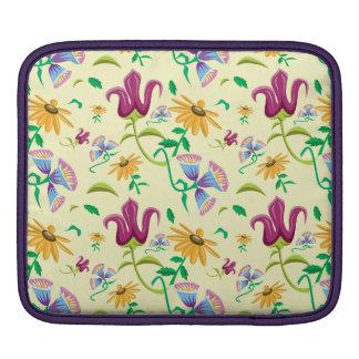 Floral design Daisies, tulips assorted Flowers iPad Sleeve