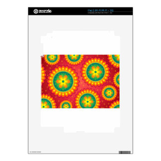 floral Design Flower Skin For iPad 2