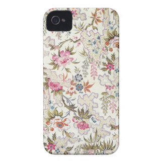 Floral design for silk material with stylized flow Case-Mate iPhone 4 case