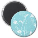 floral design fridge magnets