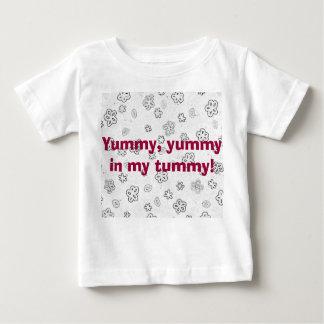 Floral design infant t-shirt