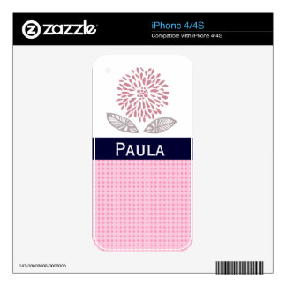 Floral Design iPhone 4 Skins