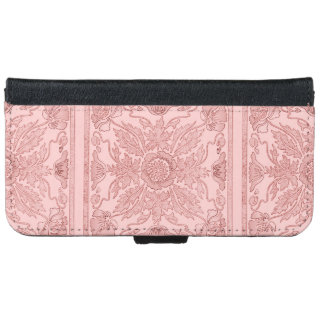 Floral design iPhone 6 Wallet Case