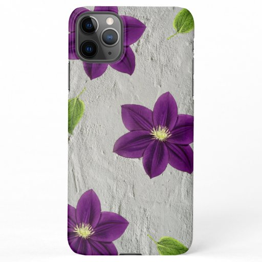 Floral Design iPhone 11Pro Max Case