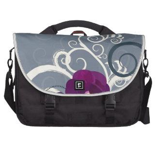 Floral Design Laptop Bag