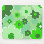 Floral Design Mouse Mat