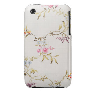 Floral design of carnations and roses for a silk m Case-Mate iPhone 3 case