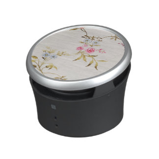 Floral design of carnations and roses for a silk m speaker