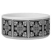 Floral Design Pet Bowl