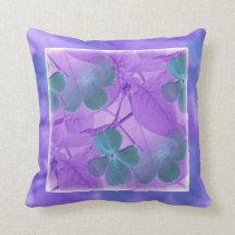 Floral Design Pillow