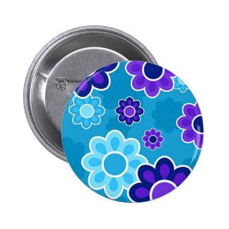 Floral Design Pinback Button