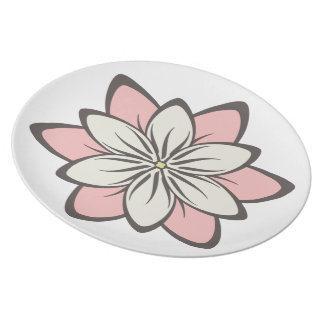 Floral Design Plate