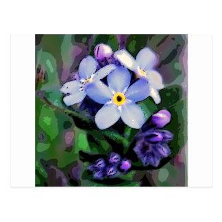 Floral Design Postcard