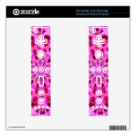 floral design r4 skin for the wii remote