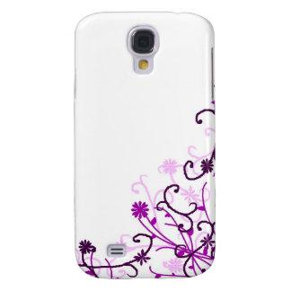 Floral design samsung s4 case