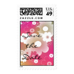 Floral Design - Save the Date Stamp