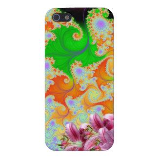 Floral Design Scene iPhone SE/5/5s Cover