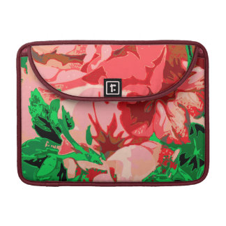 Floral design sleeves for MacBook pro