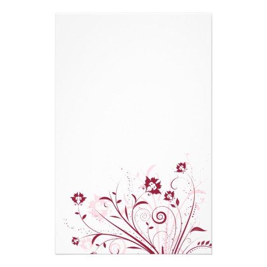 Floral Design Stationery