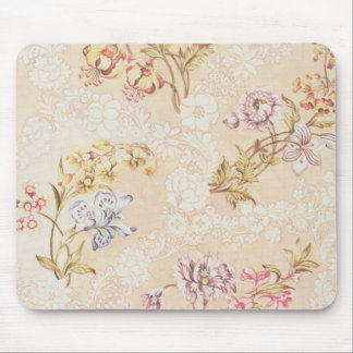 Floral design with peonies, lilies and roses for S Mouse Pad