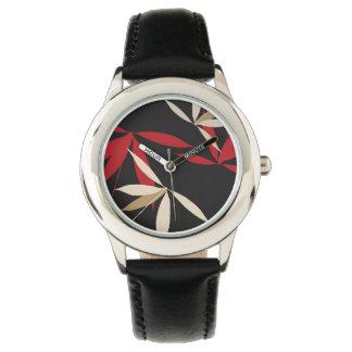 Floral Design Wrist Watches