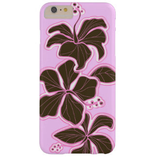 Floral dirigida Hawaiian del hibisco de Kailua Funda De iPhone 6 Plus Barely There