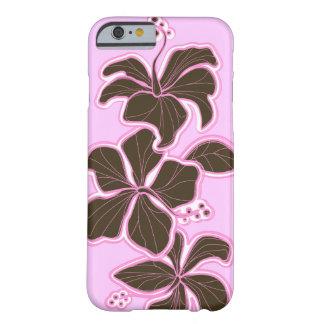 Floral dirigida Hawaiian del hibisco de Kailua Funda De iPhone 6 Barely There