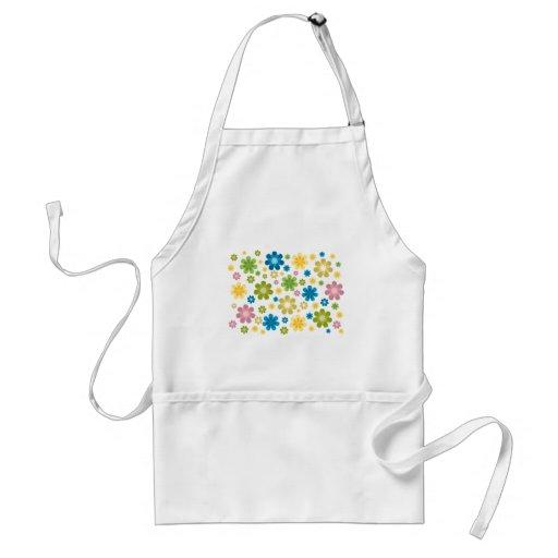 Floral - diseño del hippie delantal