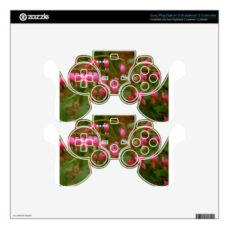 Floral Display Skins For PS3 Controllers
