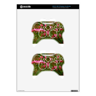 Floral Display Xbox 360 Controller Decal