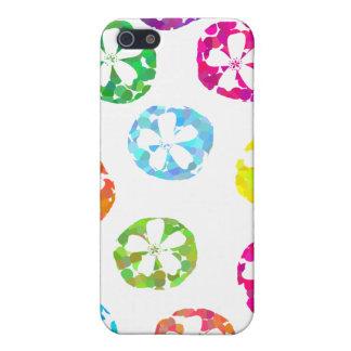 floral dot deigns iPhone 5 case